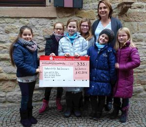 Grundschule Pestalozzi Spende