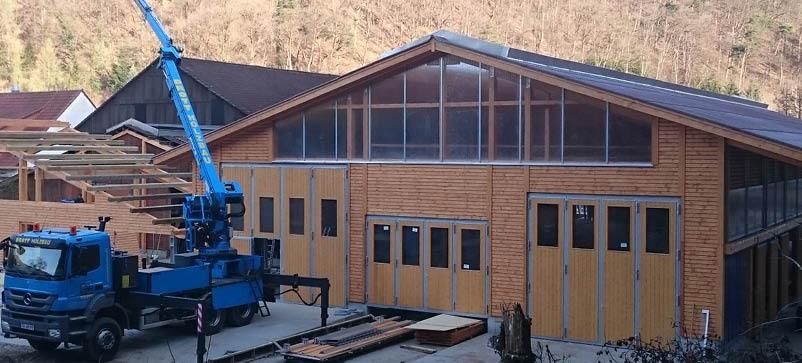 Bautagebuch Kleinsägmühlerhof