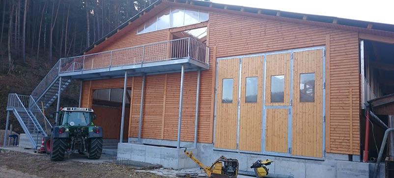 Bautagebuch Kleinsägmühlerhof 16