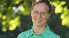 Leiterin Gärtnerei Stefanie Kuß