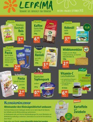 Leprima Flyer September Seite 1