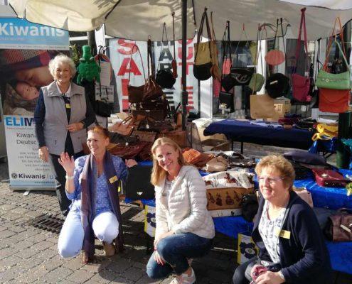 Spenden Kiwanis Handtaschenverkauf