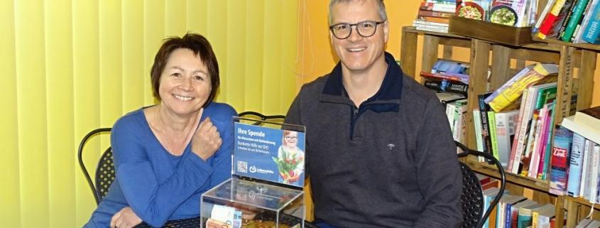 Spendenübergabe Findus Naturkost Kleinsägmühlerhof Lebenshilfe Bad Dürkheim