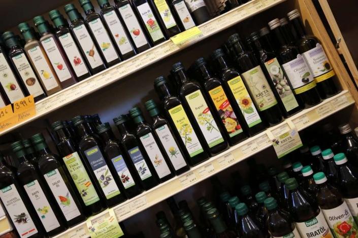Leprima Biomarkt Bad Dürkheim Öle von Byodo Rapunzel und Bio Planete