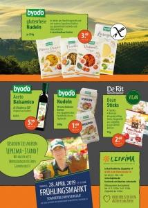 Leprima Biomarkt Flyer April Seite 2