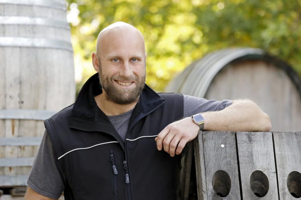 Gabriel Huber Leiter Weinbau der Lebenshilfe Bad Dürkheim